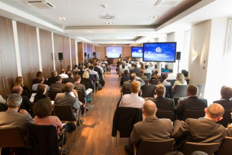 "Teilnehmer bei der Konferenz ""REMIT: implementation and compliance"" am 30. Mai in Wien"
